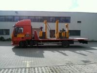 transport maszyny na auto lawecie - 1