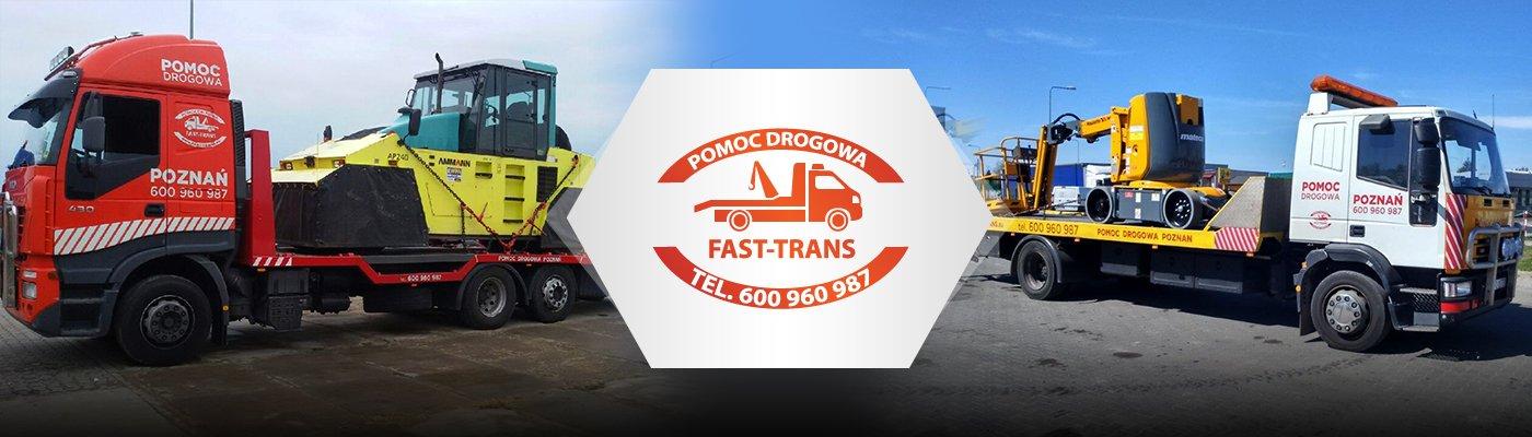 Transport maszyn budowlanych i rolniczych